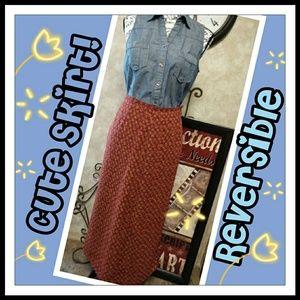 💟Pretty Reversible Skirt!💟